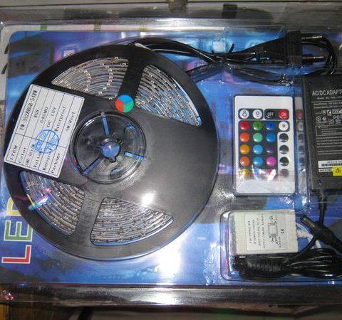 Диодная лента RGB 5050 60 led