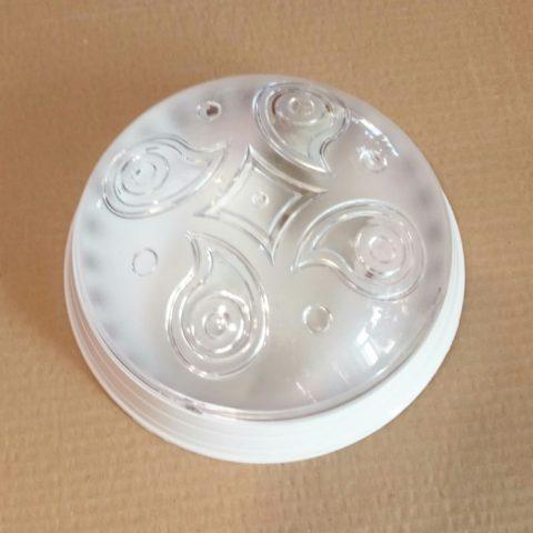 Светильник круглый пластиковый 118 luna