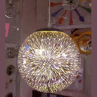 шар зеркальный салют