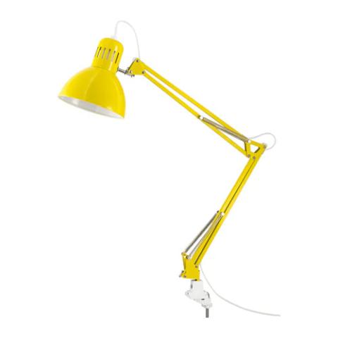 Настольная лампа Рабочая на струбцине патрон Е27